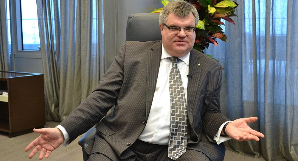 Председатель правления Белгазпромбанка Виктор Бабарико