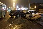 Последствия ДТП в Минске