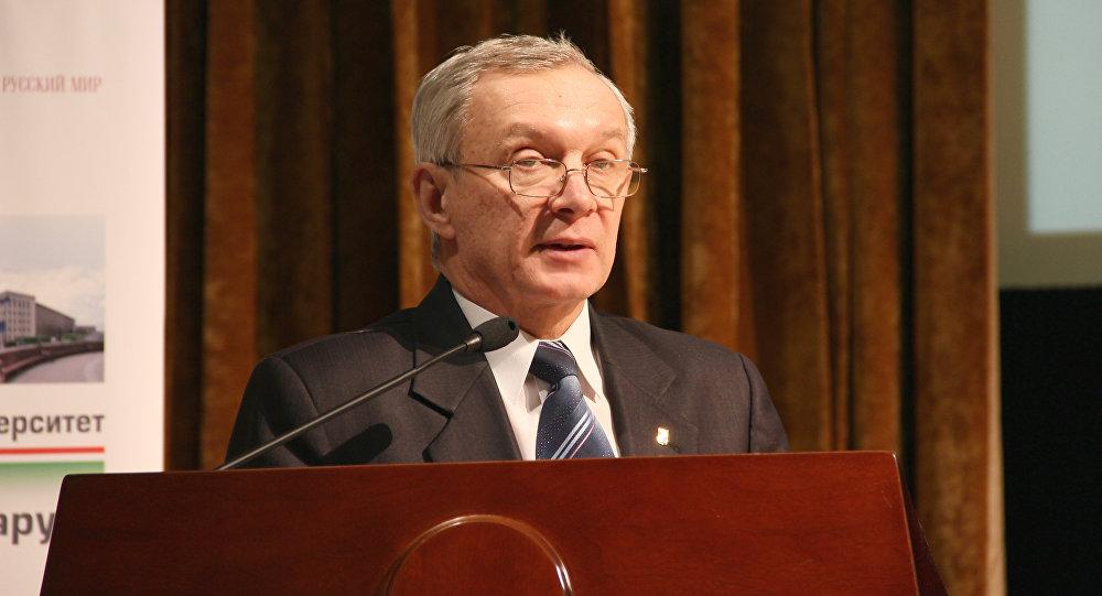 Ректор БГУ Сергей Абламейко