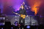 Британский рок-музыкант Пол Маккартни