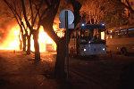 СПУТНИК_Заминированный автомобиль взорвался в центре Анкары. Кадры с места ЧП
