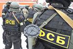 Сотрудники ФСБ России. Архивное фото
