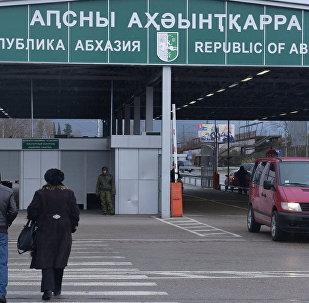 КПП на абхазской границе