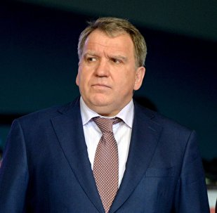 Глава Федерации борьбы Беларуси Юрий Чиж