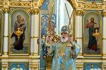 Митрополит Минский и Заславский Павел, Патриарший Экзарх всея Беларуси проводит службу. Архивное фото
