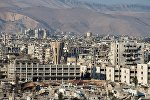 Ситуация в сирийском городе Дамаске