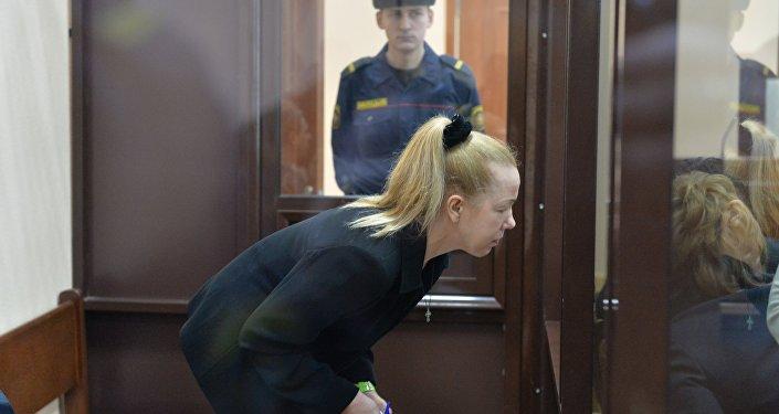 Анна Шарейко на суде