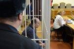 Зал заседаний Октябрьского суда Минска, где рассматривается дело актера Артема Бородича