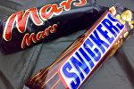 Батончики Mars и Snickers