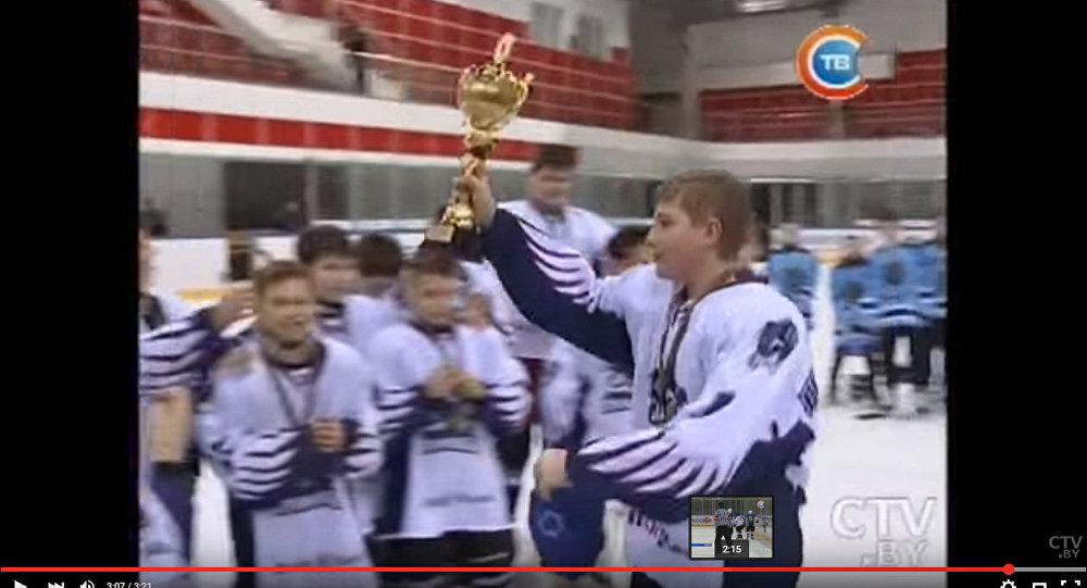 Николай Лукашенко стал лучшим бомбардиром Золотой шайбы
