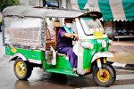Моторикша в Таиланде
