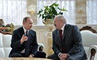 Владимир Путин и Александр Лукашенко на заседании ВГС