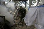 Обработка помещений от комаров