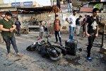 На месте теракта в Багдаде