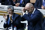 Джанни Инфантино во время выборов в ФИФА