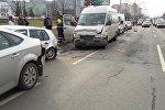 ДТП на улице Притыцкого в Минске