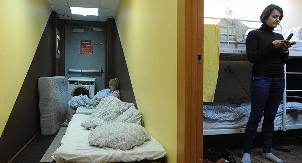 Спальная комната общежития