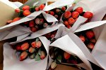 Букеты тюльпанов