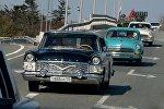 Автопробег, посвященный Дню автомобилиста, во Владивостоке