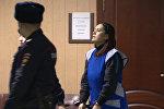 Спутник_Подозреваемая в убийстве ребенка ответила на вопросы журналистов в суде