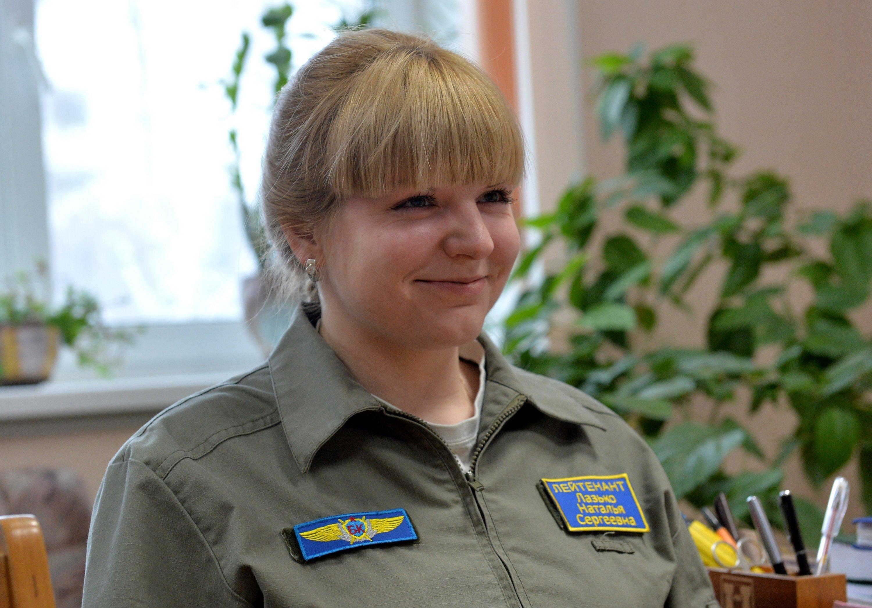 Лейтенант Наталья Лазько