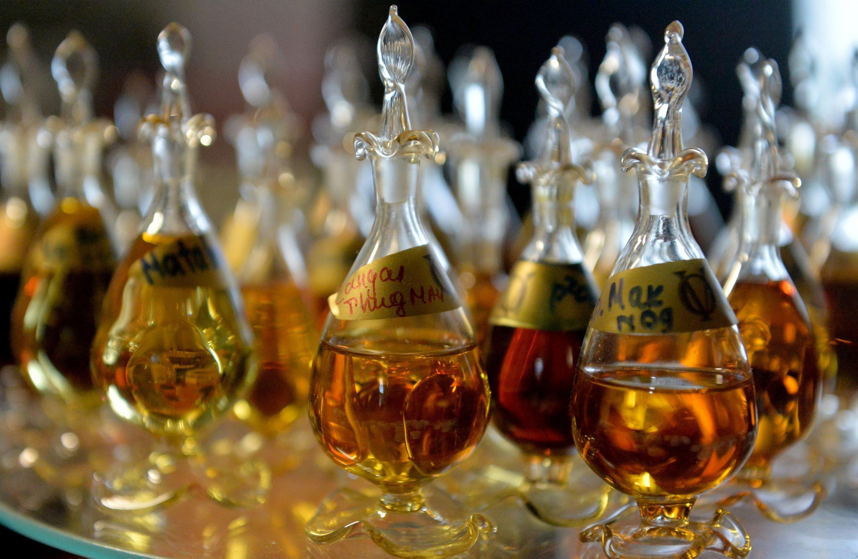 А так выглядит парфюмерная композиция, или сердце духов.