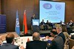 Николай Самосейко на конференции по проблеме смертной казни