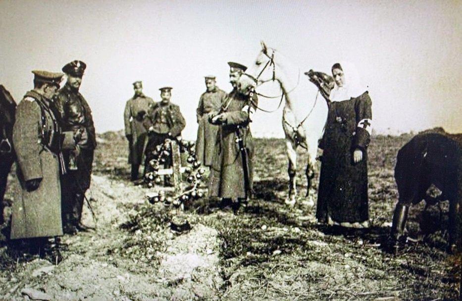 Похороны военнослужащего российской армии