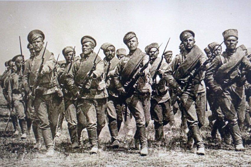Атака русских войск