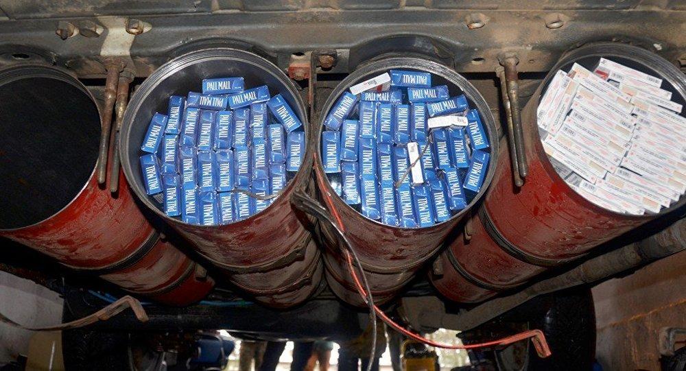 Контрабанда в газовых баллонах