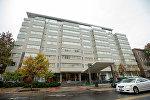 Отель в Вашингтоне, в котором было обнаружено тело Михаила Лесина