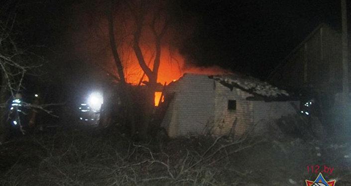 Пожар в Гродненском районе