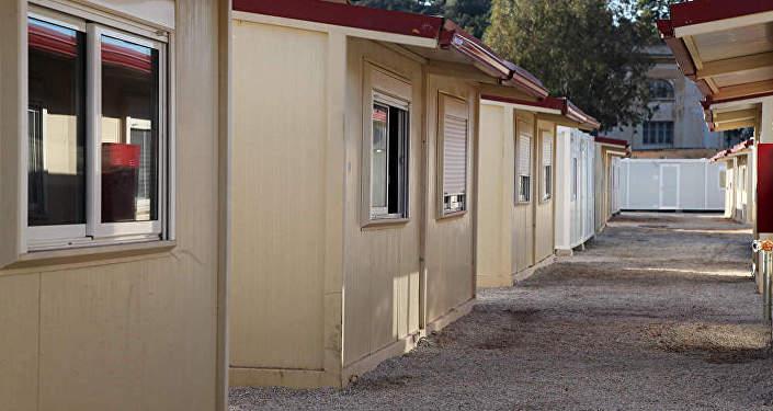 Модульные домики. Архивное фото