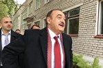 Кандидат в президенты Беларуси Сергей Гайдукевич проголосовал на избирательном участке № 77