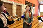 Министр труда и социальной защиты населения Марианна Щеткина