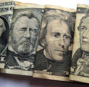 Партрэты на амерыканскіх доларах