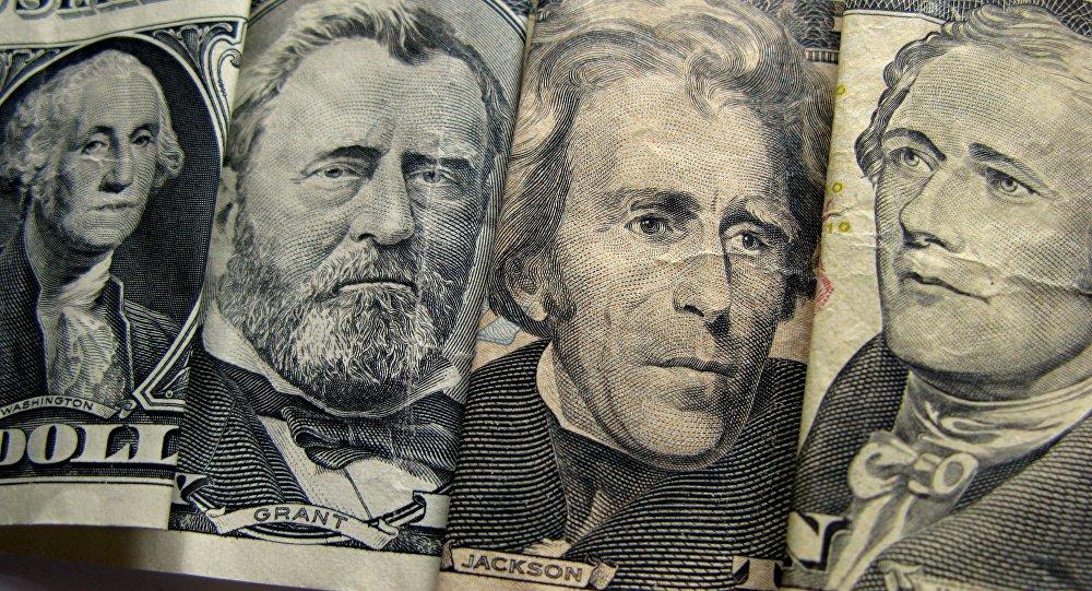 Выявы мужчын на доларах ЗША