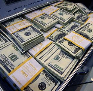 Кейс с деньгами