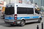 Автомобиль польской полиции. Архивное фото