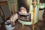 Отопительный котел в доме погибших в Березе