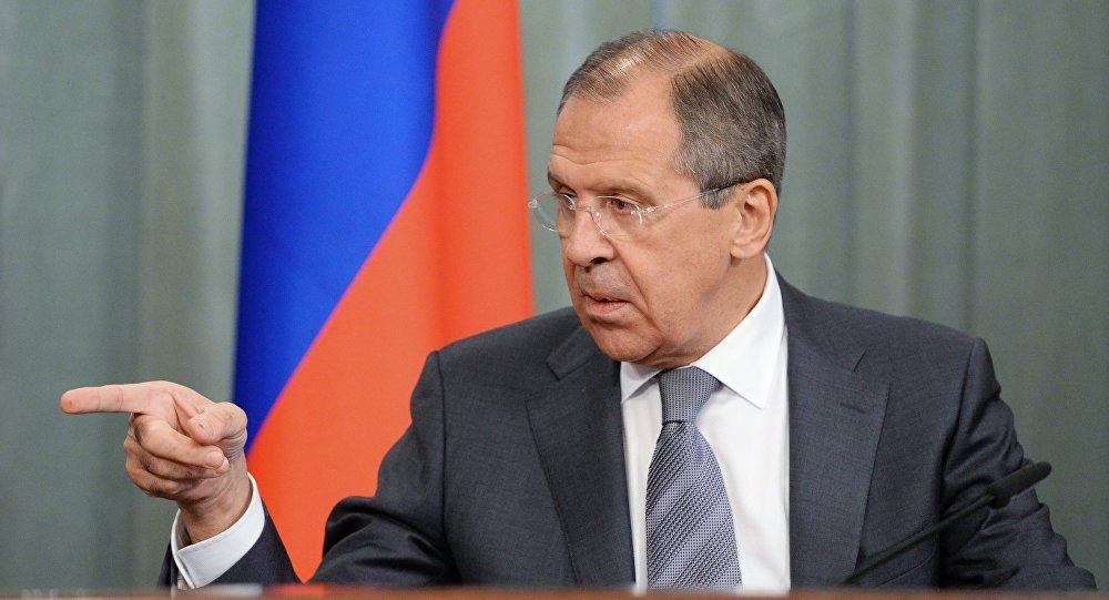 Глава МИД РФ С.Лавров, архивное фото