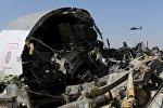 Обломки самолета А321 авиакомпании Когалымавиа в Египте