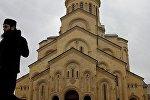 Крупнейший храм Грузии - Самеба