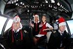 Пилоты и стюардессы компании Белавиа