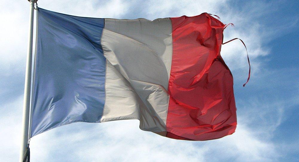 Сцяг Францыі, архіўнае фота