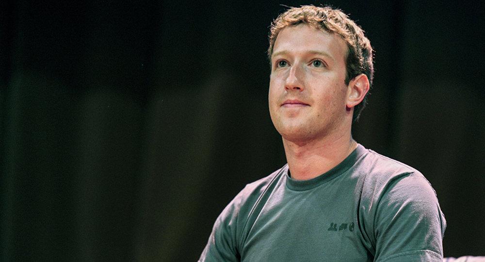 Стваральнік сацыяльнай сеткі Facebook Марк Цукерберг