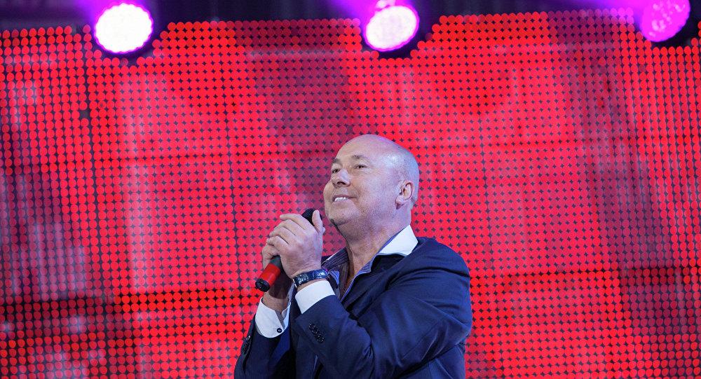 Александр Солодуха на фестивале в Молодечно