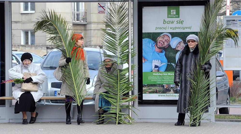 Пальмавая нядзеля ў Варшаве