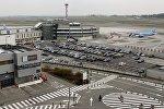 Аэрапорт у Брусэлі, архіўнае фота