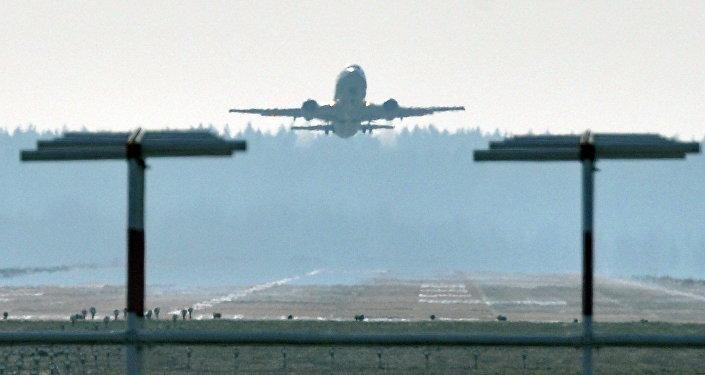 Взлетно-посадочная полоса Национального аэропорта Минск